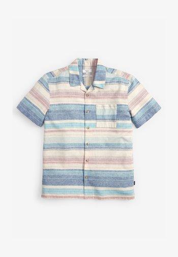 HORIZONTAL STRIPE - Shirt - blue