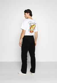 Carhartt WIP - SINGLE KNEE PANT COVENTRY - Trousers - black rinsed - 2