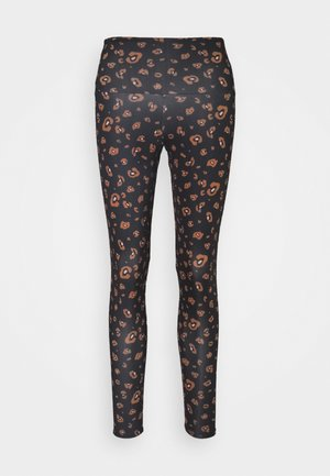 HIGH BASIC MIDI - Legginsy - black