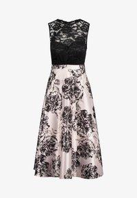 Vera Mont - MIT SPITZE - Cocktail dress / Party dress - black/cream - 2