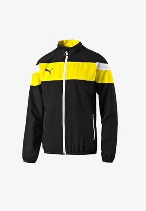 Training jacket - schwarzgelb
