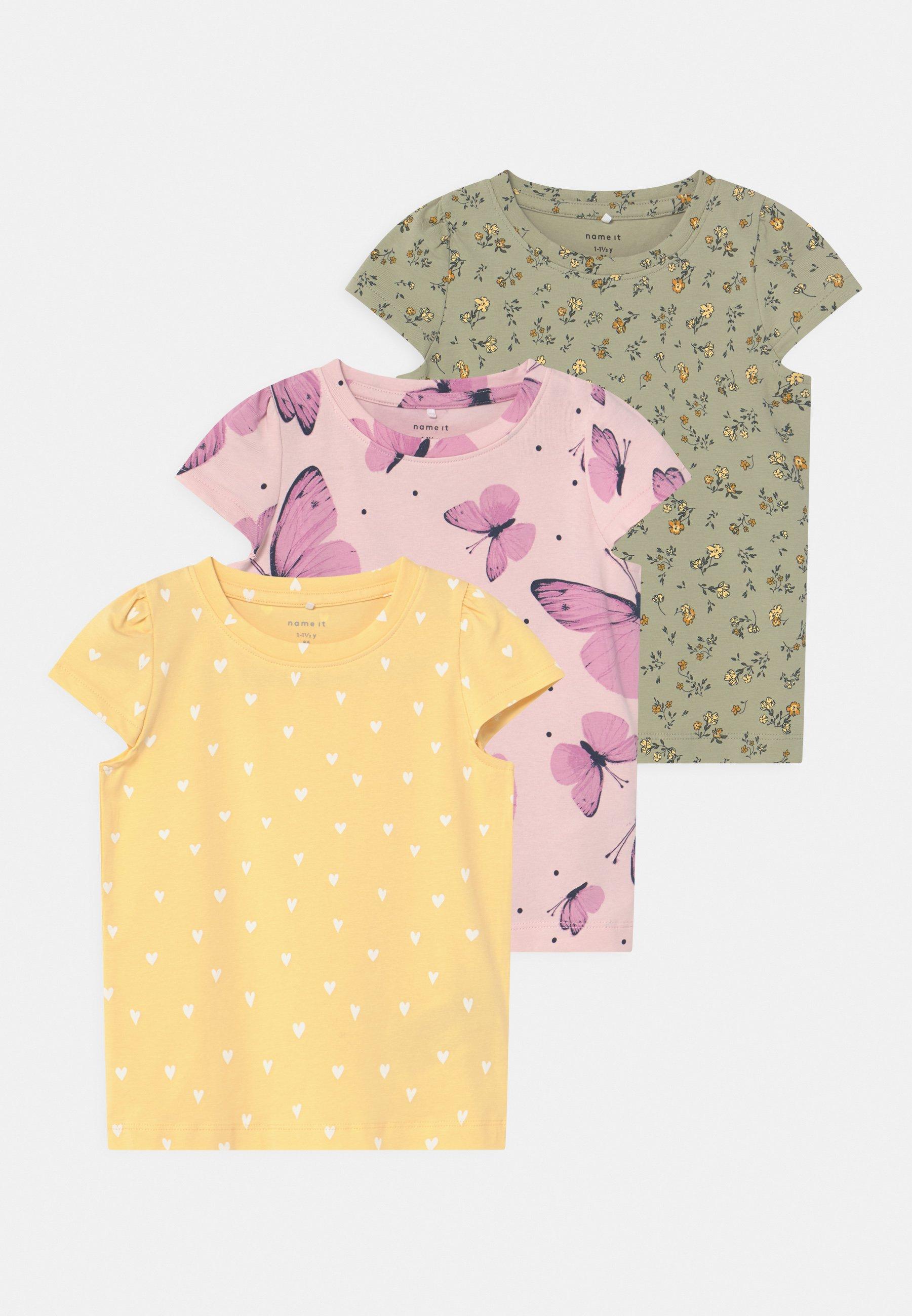 Kids NBFSONYA 3 PACK - Print T-shirt