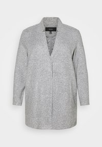 Vero Moda Curve - VMBRUSHEDKATRINE JACKET - Short coat - light grey melange - 0
