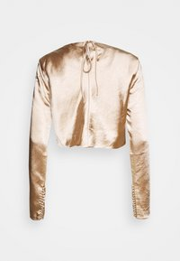 Third Form - WILD FLOWERS BUTTON CUFF BLOUSE - Bluser - rose gold - 1
