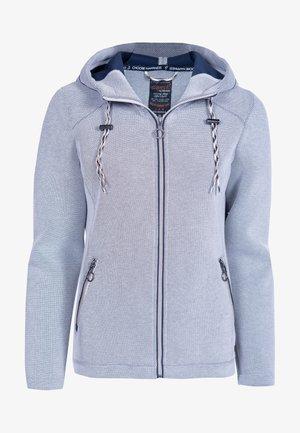 Zip-up sweatshirt - dunkelblau