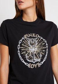 Pinko - EDGARDO - Print T-shirt - nero - 3