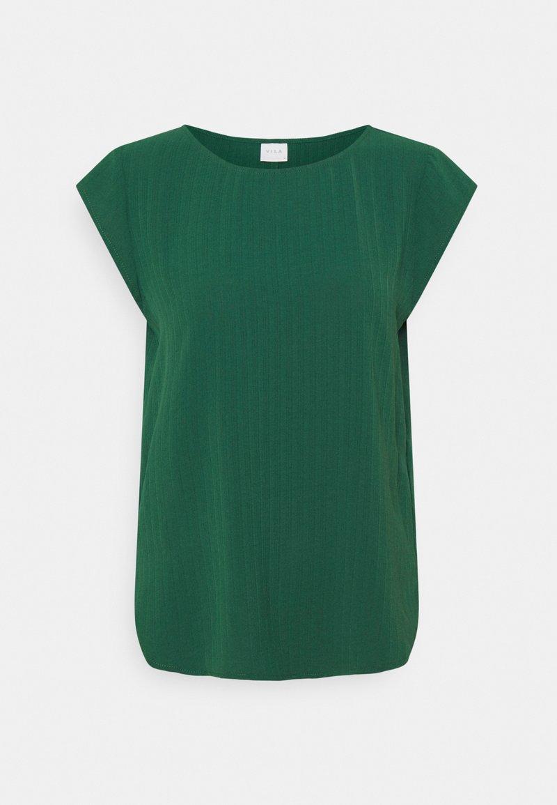Vila - VILOVIE CAPSLEEVE  - T-shirt med print - eden