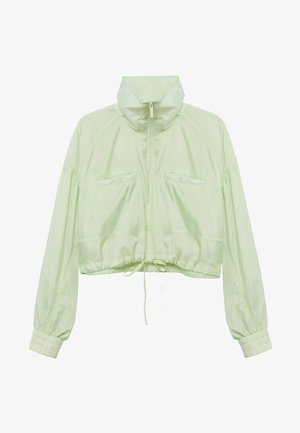 Summer jacket - pastel green