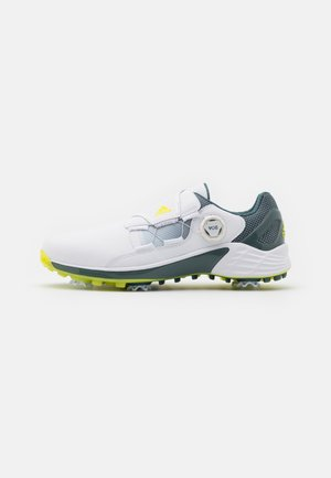 ZG 21 BOA - Obuwie do golfa - footwear white/yellow/blue