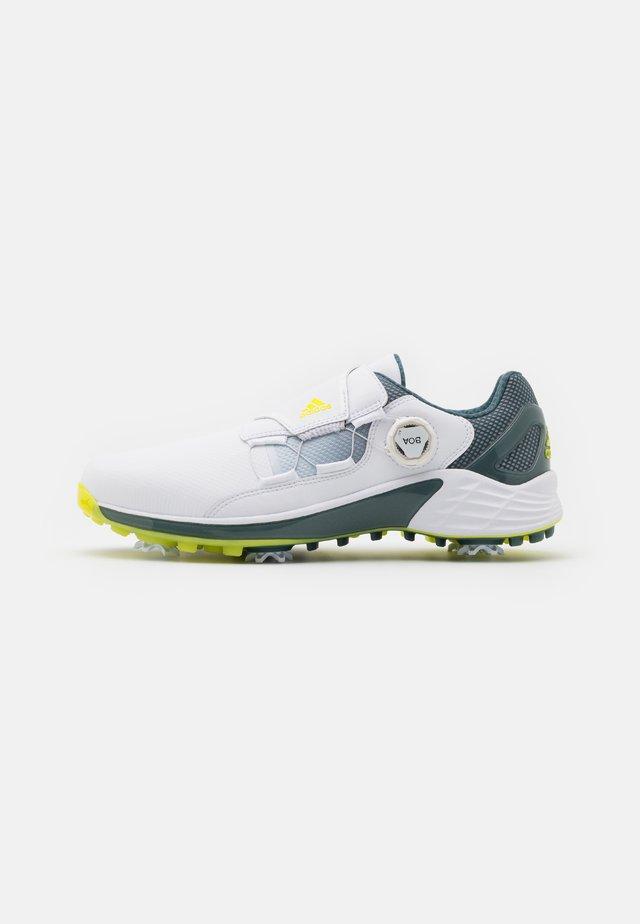 ZG 21 BOA - Obuwie do golfa - footwear white/yellow/blue