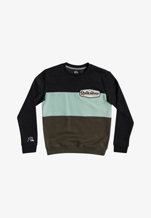 TROPICAL BLOCK - Sweatshirt - dark grey heather
