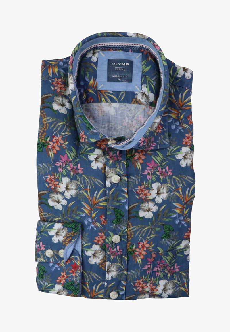 OLYMP - Shirt - dunkelblau