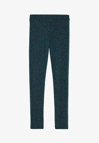 Calzedonia - KOMFORT-LEGGINGS MIT GLITZER - Leggings - Stockings - grün - 260c - glitter verde smeraldo - 3