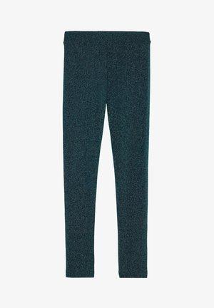 KOMFORT-LEGGINGS MIT GLITZER - Leggings - Stockings - grün - 260c - glitter verde smeraldo