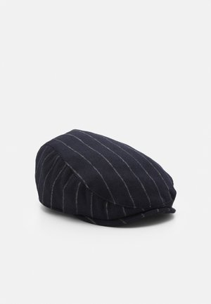 STRIPE FLAT - Hat - navy