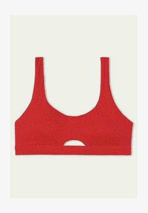 Bikini top - red summer