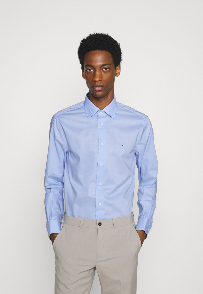 Tommy Hilfiger Tailored - PLAIN REGULAR FIT - Camicia elegante - classic blue