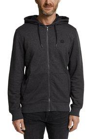 Esprit - Zip-up hoodie - anthracite - 4