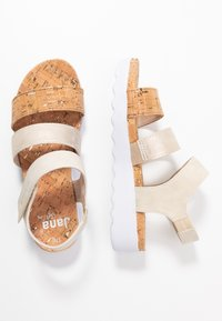 Jana - Platform sandals - pepper/light gold - 3