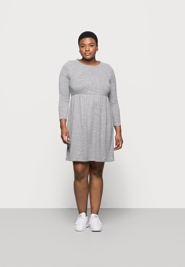 SOFT TOUCH DRESS - Kjole - grey