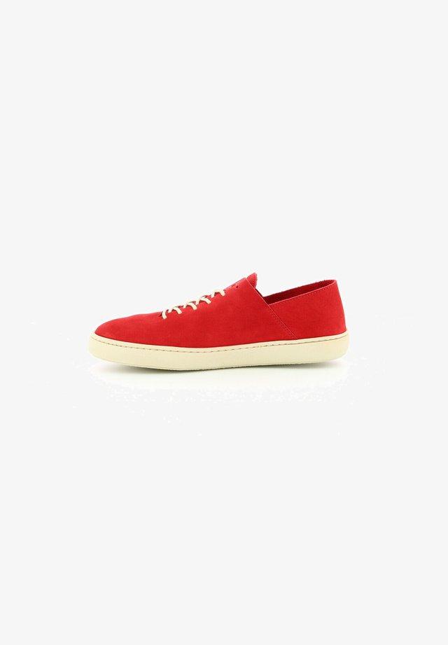 BASSES CUIR REBEKI - Sneakersy niskie - rouge