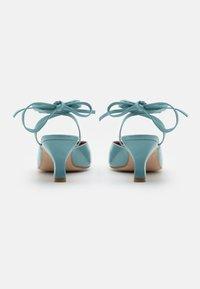 ÁNGEL ALARCÓN - Lace-up heels - ilusion - 3