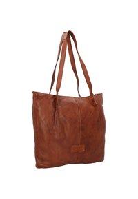 Harold's - SUBMARINE - Tote bag - cognac - 3