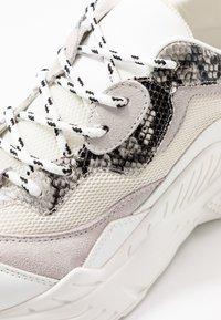 Steve Madden - ANTONIA - Sneakers - white/multicolor - 2