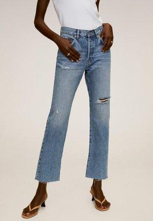 HAVANA - Jeans a sigaretta - mittelblau