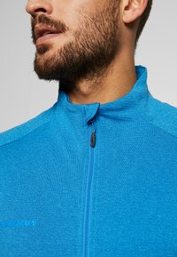 Mammut - NAIR JACKET MEN - Zip-up hoodie - gentian melange - 3