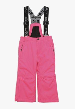 SALOPETTE - Zimní kalhoty - fluxia fluo