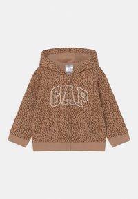 GAP - HOOD  - Zip-up sweatshirt - desert tan - 0