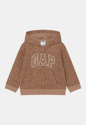 HOOD  - Zip-up sweatshirt - desert tan