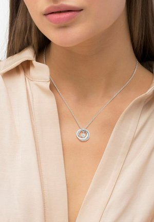 MIT ANHÄNGER - Necklace - silber