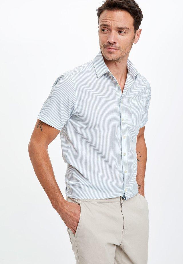 Skjorta - turquoise