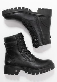Dockers by Gerli - Lace-up ankle boots - schwarz - 3