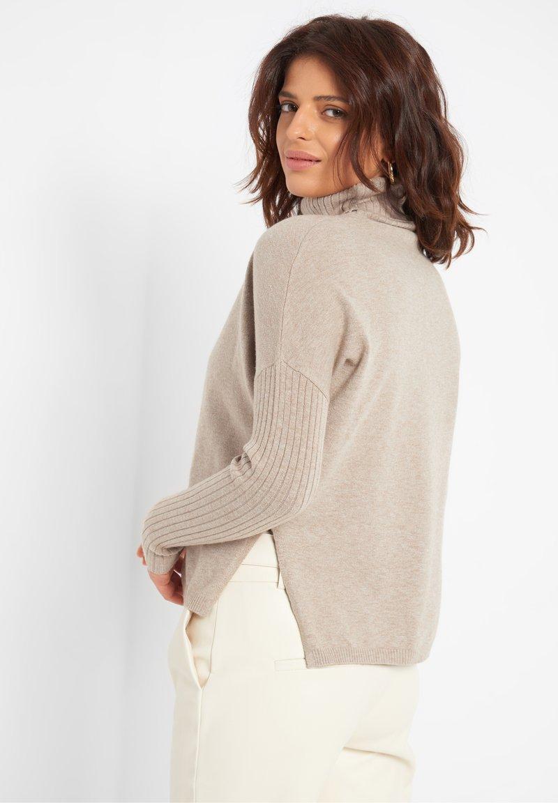 ORSAY Strickpullover - light brown/braun C9NnAv