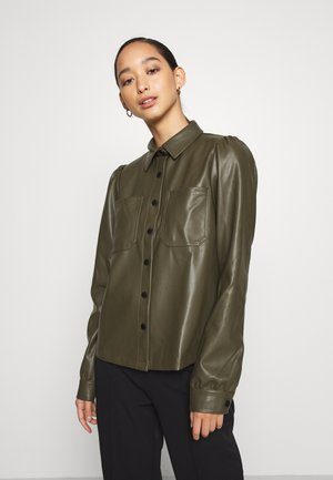 NMHILL - Button-down blouse - olive night