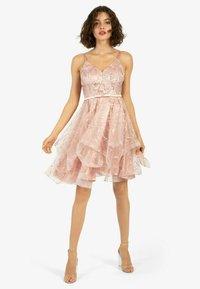 Apart - Cocktail dress / Party dress - pink - 0