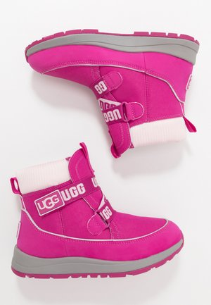 TABOR WP - Winter boots - fuchsia
