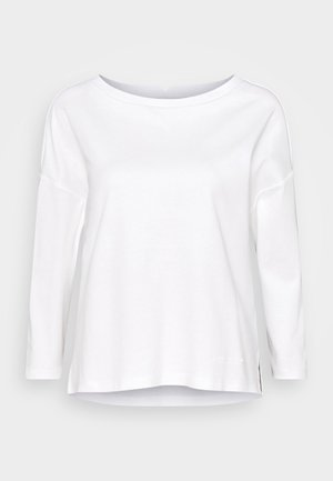 LONG SLEEVE - Camiseta de manga larga - paper white