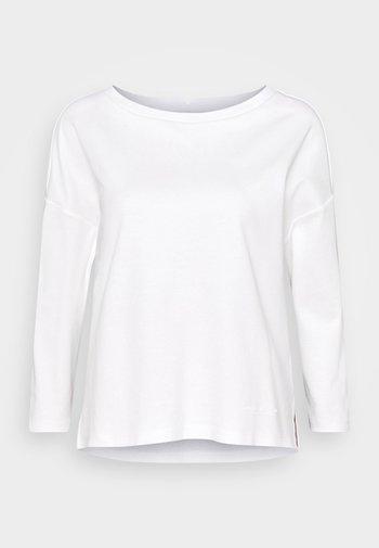 LONG SLEEVE - Pitkähihainen paita - paper white