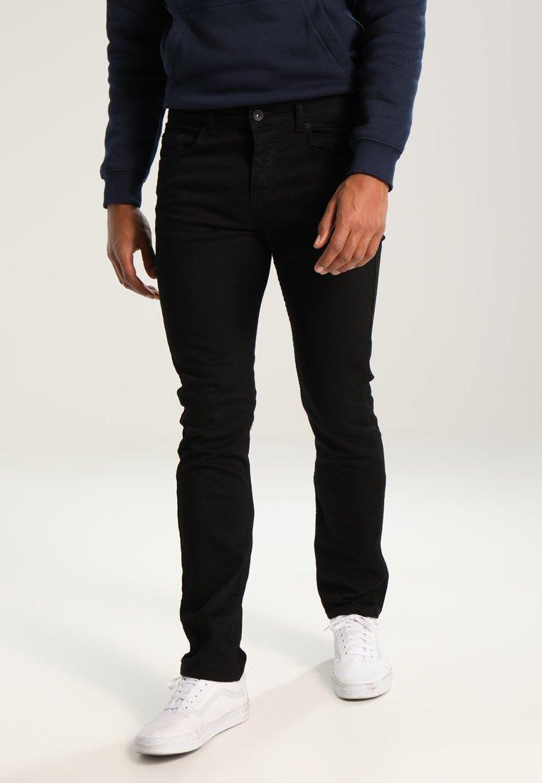 YOURTURN - Straight leg jeans - black denim