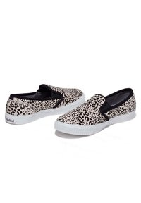 Timberland - Slip-ons - black and white leopard - 1