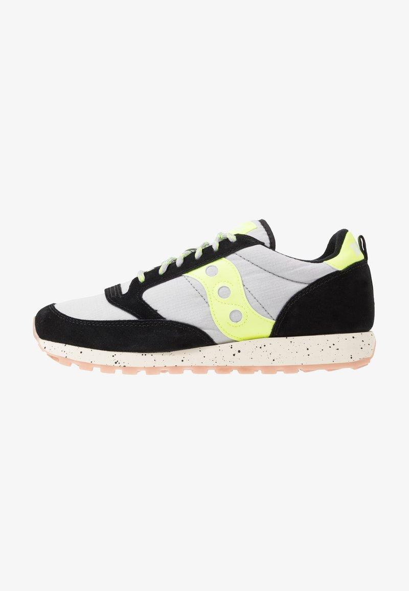 Saucony - JAZZ ORIGINAL OUTDOOR - Sneaker low - black/slime