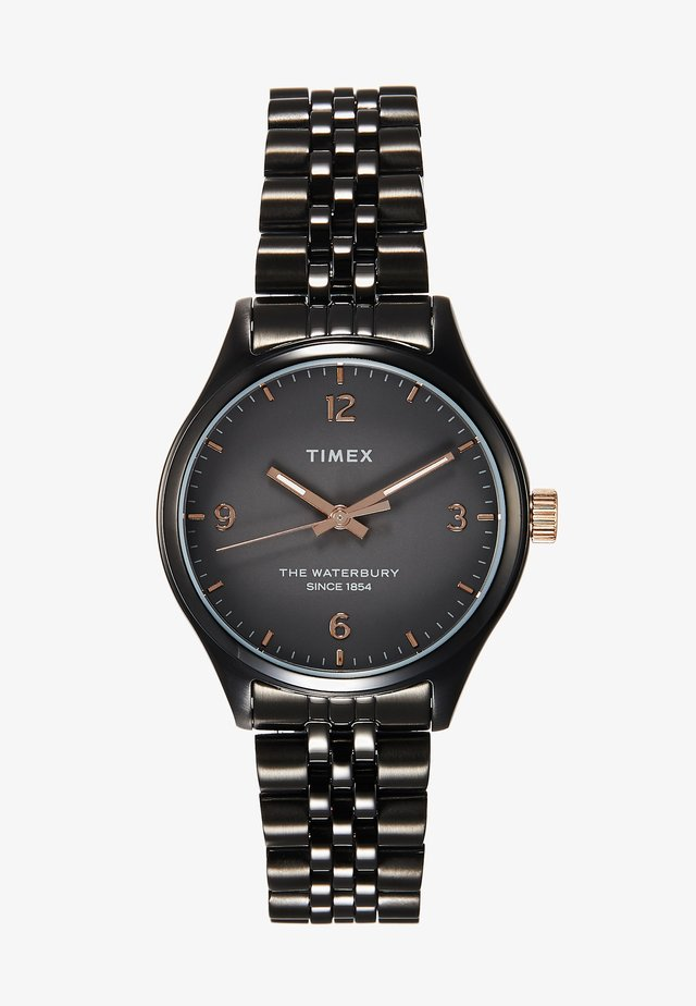 WATERBURY CASE DIAL BRACELET - Montre - gunmetal