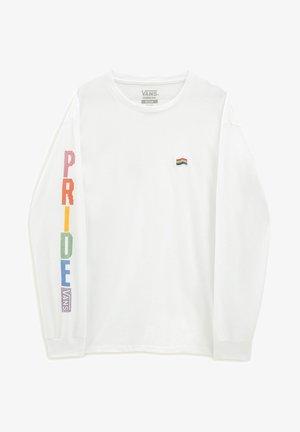 MN PRIDE LS - Bluza - white