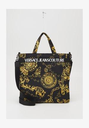 RANGE LOGO TYPE UNISEX - Tote bag - nero/oro