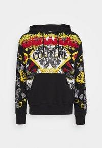 Versace Jeans Couture - Felpa con cappuccio - nero - 0