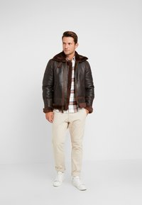 Schott - Leather jacket - aubrun - 1